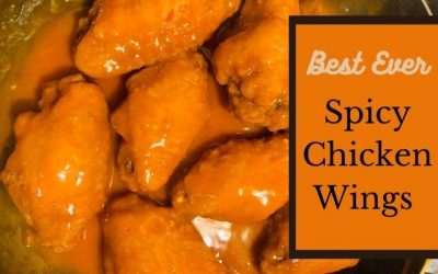 Spicy Chicken wings with buffalo sauce