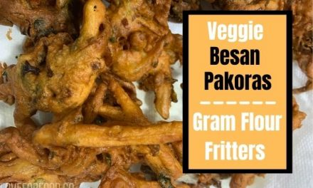 How to make Pakoras – gram flour fritters in Pakistani Style